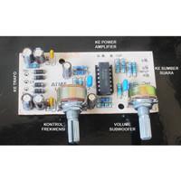 Kit Subwoofer Filter LPF 1 untuk Audio Rumah