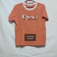 T-shirt orange / Kaos Korea / Kaos Lucu