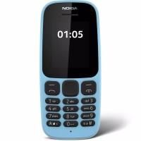 Nokia 105 DS 4MB/4MB RAM Handphone Garansi Resmi (Dual SIM)