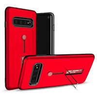 Samsung S10 Plus Silicone Ring Stand Luxury Soft Gel Capa Armor Case