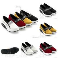 [EMORY RAMINA WEDGES O961] Sepatu Fashion Wanita Impor Murah