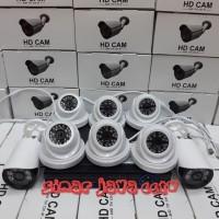 PROMO PAKET CCTV FULL HD 8CHANEL (3MEGA PIXEL)Komplit tnggl psng aja