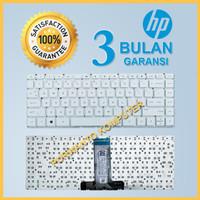 Keyboard Laptop HP 14-BW 14-Bw015 14-Bw501au - Putih White