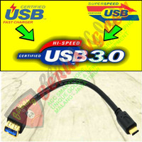 Kabel Charge dan Data Type C to USB 3.0 Gold Plated - MALANG