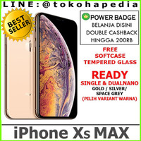 DUAL NANO IPHONE XS MAX 64GB 64 GOLD SILVER SPACE GREY / GRAY