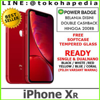 [DUAL SIM]iPhone 128GB / 128 XR - Black White Yellow Red Coral Blue