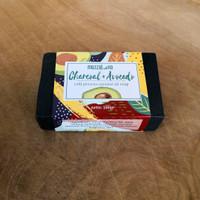 Sabun Kulit Sensitif Dermatitis Avocado Charcoal 100g Mezzaluna