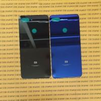 Tutup Belakang Backdoor Back Casing Xiaomi Mi8 Mi 8 Lite ORI Kaca - Hitam