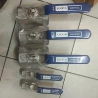 Kran Air/Ball Valve Sankyo 1 1/2''(inch) Stainless Steel