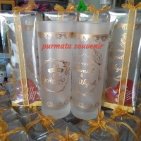 souvenir gelas slim/souvenir gelas murah/souvenir pernikahan