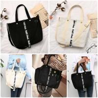 Black&White Korean Tote Bag / Tas Tote / Tas Fashion Korea