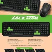 Alcatroz Explorer 5500M USB Keyboard & Mouse
