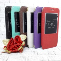Case Asus ZE500 Zenfone 2 5 inch Flip Cover Leather/Kulit Book Cover