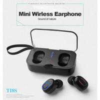 T18S TWS Mini Earphone Bluetooth 5.0 Bass Headset Wireless Stereo