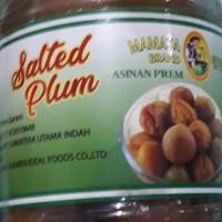 Asinan prem / buah plum dalam larutan garam Mamata salted plum 200g