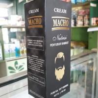 Obat Penumbuh Bulu Rambut Jambang Jenggot - Cream Macho Nutrisi Rambut