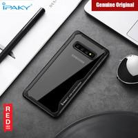 Samsung S10 Black Soft Silicone Bumper Auto Focus Case IPAKY