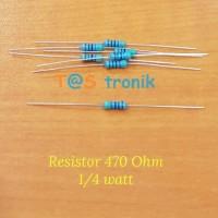 Resistor 470 Ohm 1/4 watt