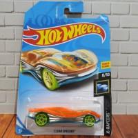 Hot wheels clear speeder