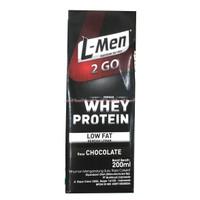 L-men 2go whey Protein Coklat Susu Cair Lmen Siap minum 2 Go To go