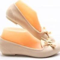 Baru Flat Jelly Shoes | Sepatu Sendal Pita Wanita - Santai | Woman