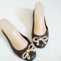 Baru Sepatu Pita Flat - Jelly Shoes Flat Ribbon