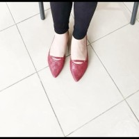 Baru Sepatu Jelly Murah / Flat Shoes Santai Kekinian - Jelly Shoes