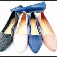 Baru Sepatu Flat Wanita - Flat Shoes Simple / Sepatu Flat Murah