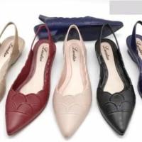 Baru Flat Shoes Lucu - Sepatu Jelly Murah / Jelly Shoes Wedges