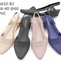 Baru Sepatu Flat Shoes. Flat Shoes. Jelly Shoes. Sepatu Wanita