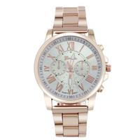 jam tangan fashion geneva chronograph chain watch jwa053