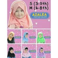 Size S & M Pastan Anak Azalea Pashmina Instan Hijab Jilbab Kaos Anak