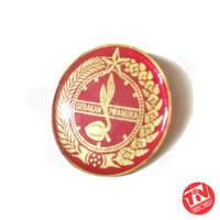 Tanda Topi / Tatop Boni Pramuka Penggalang Putri (Merah Bulat)