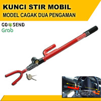 Kunci Stir Setir Mobil Model Cagak / Safety Lock Car