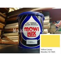 Mowilex Emulsion Yellow Canary Tinting Cat Tembok Interior