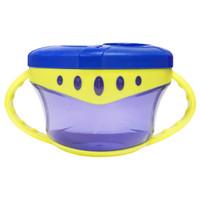 Lucky baby - Snack it easy grip snack cup -LB0382- Biru