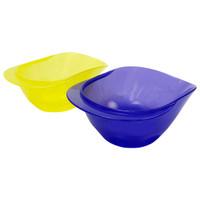 Lucky baby - Platter first bowl 2pk - LB0399- Biru