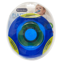 Lucky baby - Platter suction plate - LB 0368 - Blue