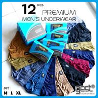 Gest Comfort Wear [12 pcs] - Celana Dalam Pria Basic - Premium Quality