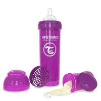 Twistshake Anti Colic Baby Bottle Purple 330ml
