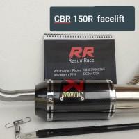 knalpot akrapovic gp carbon CBR 150R Facelift