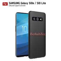 Slim Case Black Matte Softcase Samsung Galaxy S10e / S10 Lite (G970)