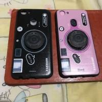 Soft case Oppo A83,F1S,F5,F5 youth,Realme C1 fashion model camera - pink A83
