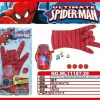 Sarung Tangan Avengers Spiderman Captain America / Mainan Anak Avenger