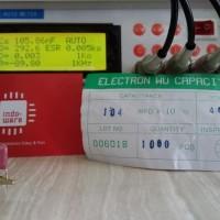 Kapasitor capasitor 400V 104K 100nf 104 0.1uf 0,1uf