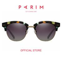 Parim / Kacamata Hitam Pria / Sunglasses / Dark Brown / 11019 M1