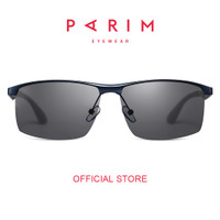Parim / Kacamata Hitam Pria / Sunglasses / Grey Charcoal / 11026 C1