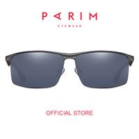 Parim / Kacamata Hitam Pria / Sunglasses / Dark Grey / 11026 G1