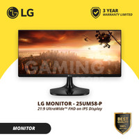 "Monitor LED LG 25"" 25UM58-P ULTRAWIDE"