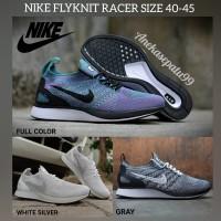 Sepatu Nike Flyknit Racer - Sepatu Olahraga Pria dan Wanita Original